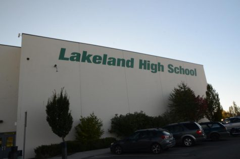 Lakeland High school from the outside.
