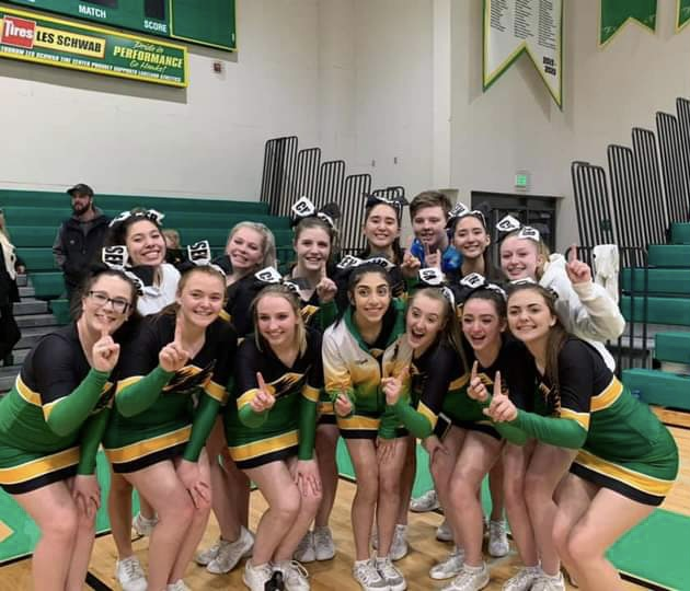 Cheer Dominates Districts