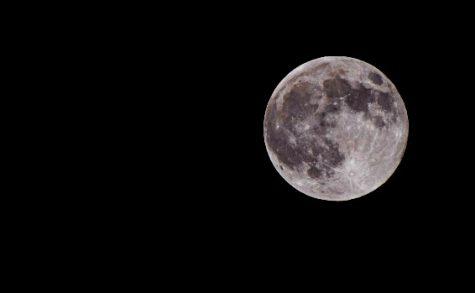 Pink Moon photo taken on April 27 2021.