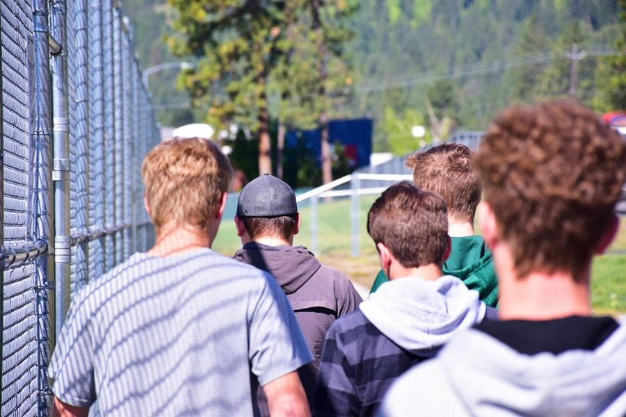 Photostory: Walk and Talk in Speech Class