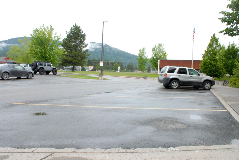 Photostory: Empty Parking Lot