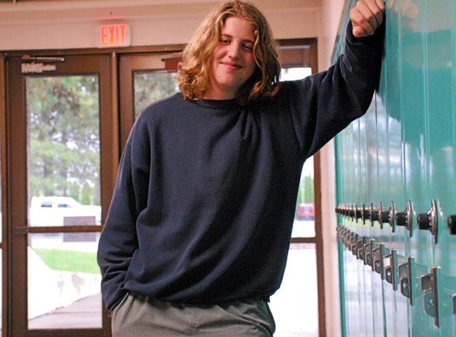 Wyatt+Aramburu+getting+his+sophomore+year+photo+taken+at+Lakeland+high+school+