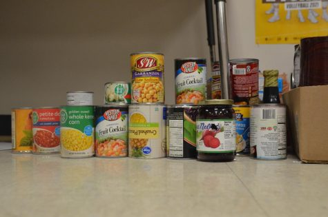 Food Drive for Homecoming