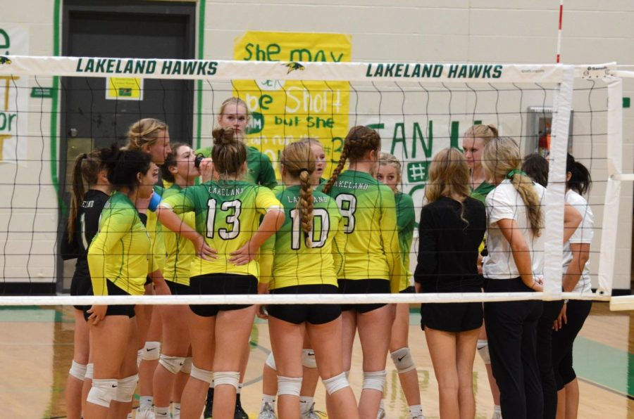 Lady Hawks Fall to Lewiston