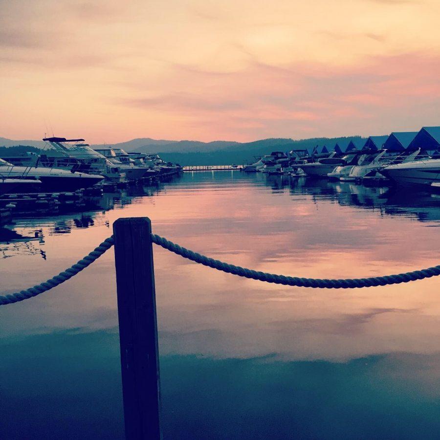 Coeur D' alene Boat dock.
