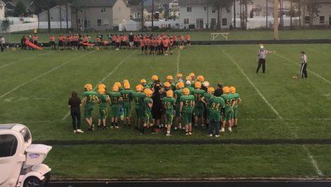 Junior Varsity Game at home. September 16th, 2021 at 6:42pm against Post Falls Highschool.